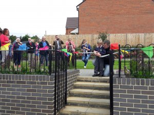 Community Garden Officially Opens